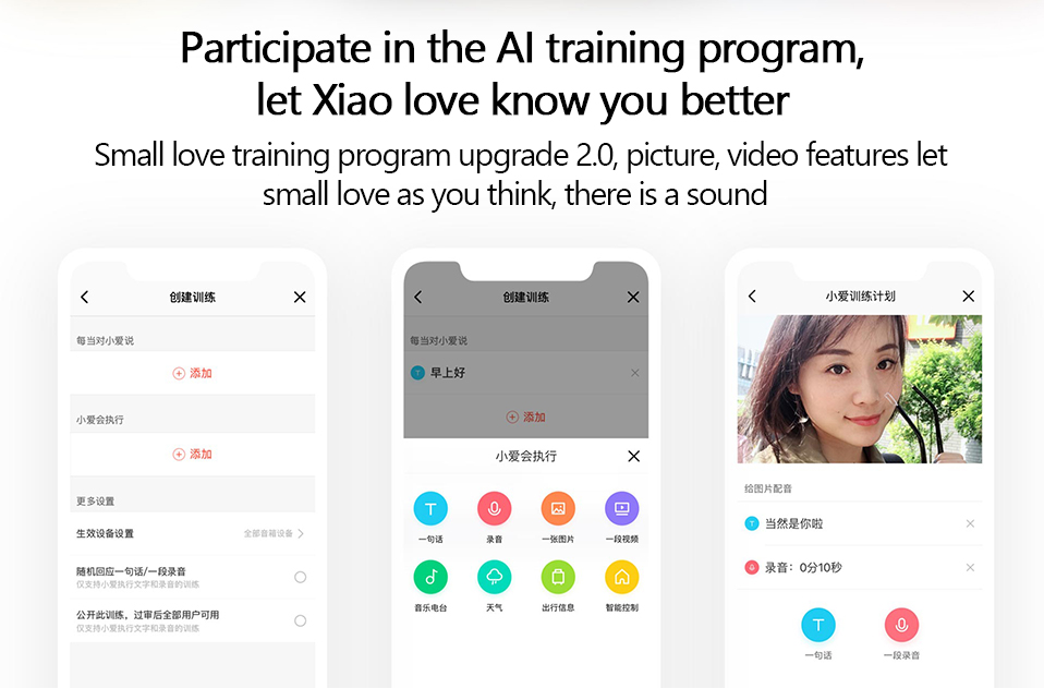 Original Xiaomi AI Touch Screen Bluetooth 5.0 Speaker Digital Display Alarm Clock WiFi Smart Connection Speaker Mi speaker (13)