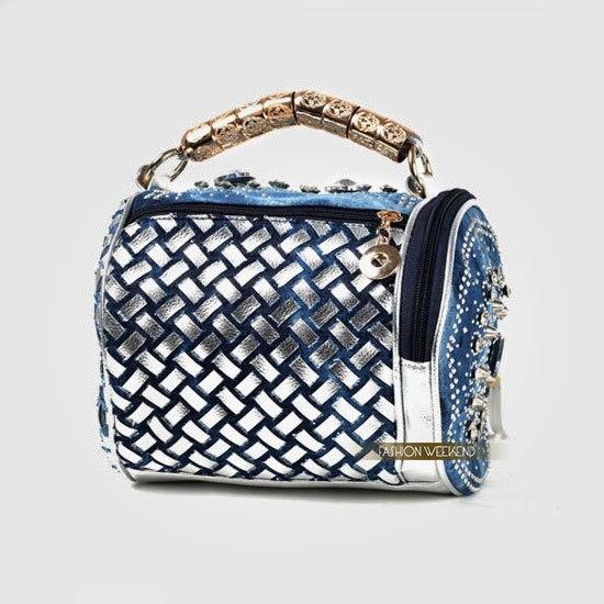 Best Quality Brand Designer Diamond Rhinestone Denim Bags Elegant Luxury  Women Jeans Handbags Delicate Tote Tassel Shoulder Bag-in Top-Handle Bags  from ... 8f05efd2fda1