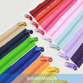 Alipress 5# Nylon Coil Zippers For DIY Sewing Bags Shoes Garment Accessories 10Meters 22 Colors Available