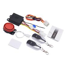 WUPP 9-12V Universal Motorcycle Anti-theft Alarm System Moto Scooter Security System With Engine Start Remote Control Key Fob