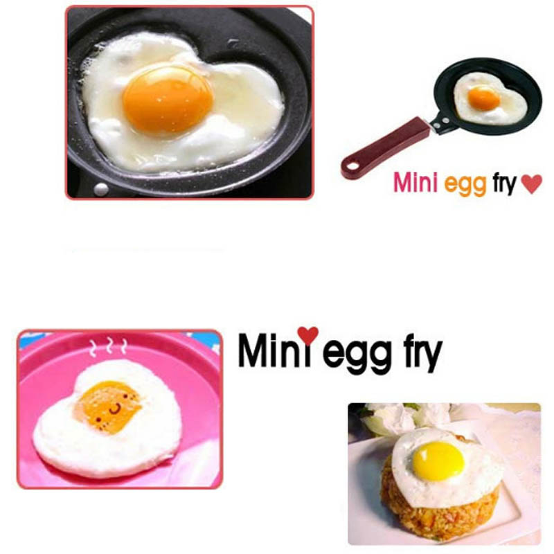 Cute Non-Stick Stainless Mini Breakfast Egg Frying Pans 1