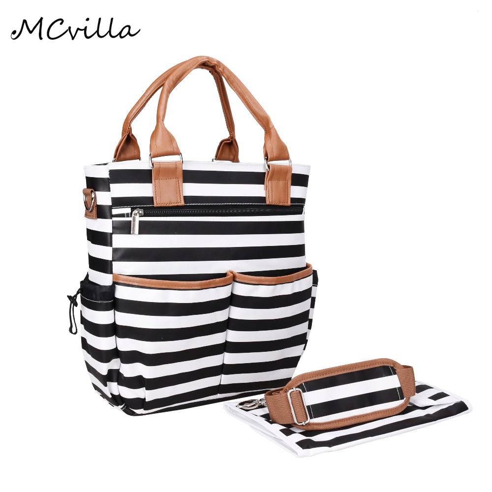 Fashion Waterproof Women 's Handbag Laptop Lady Bag For Female Gril Travel Large Capacity Oxford Tote Striped Multifunction Bags 2015 lady s fashion new arrival women s handbag 100