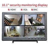 10.1 inch IPS HD Monitor Resolution 1920x1200 HDMI AV VGA Interface Gaming Display for PS3 PS4 XBOX Car Use Portable LCD Screen
