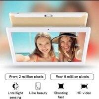 ram 128g 10.1 אינץ Tablet PC 3G / 4G אנדרואיד 9.0 טבליות סופר Core אוקטה רם 6G RAM + 128g ROM WiFi GPS 10 לוח IPS 1920 * 1280 Dual SIM GPS (2)