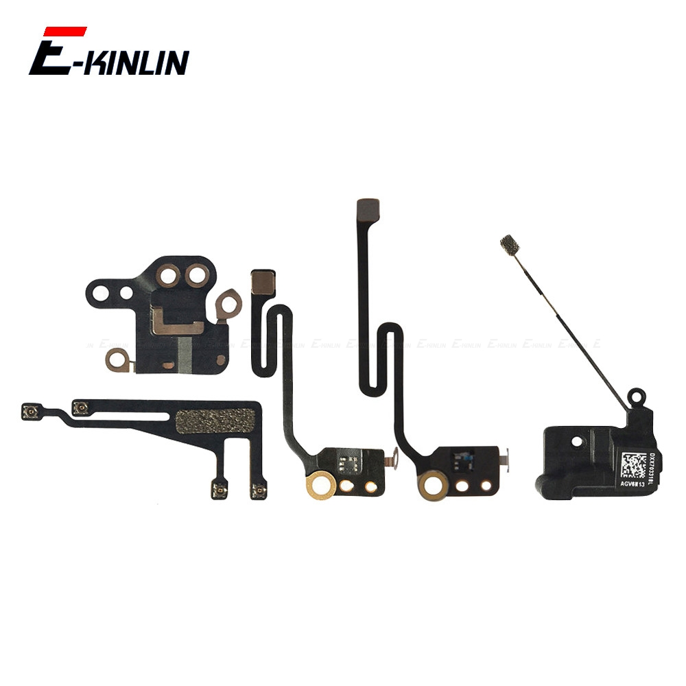 WiFi Cover GPS Antenna Signal Shield Plate Flex Cable For IPhone 6 6S 7 8 Plus Replacement Repair Parts