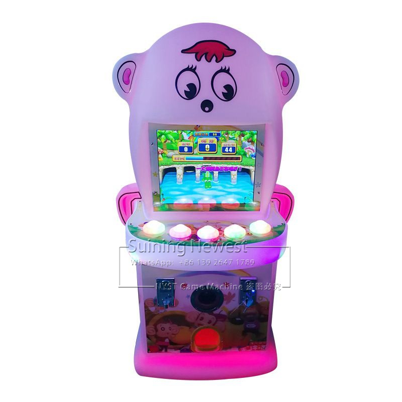 NYST Mini Amusement Equipment Coin Operated Kids Video Arcade Game Machine For Shopping Malls