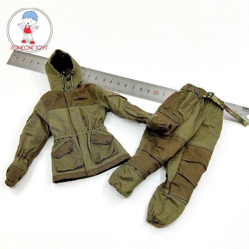1/6 Soldier Combat Suit 78059 Russian Spetsnaz MVD Mountain Tactical Combat Coat Pants Set Accessories For 12 Inches Figure