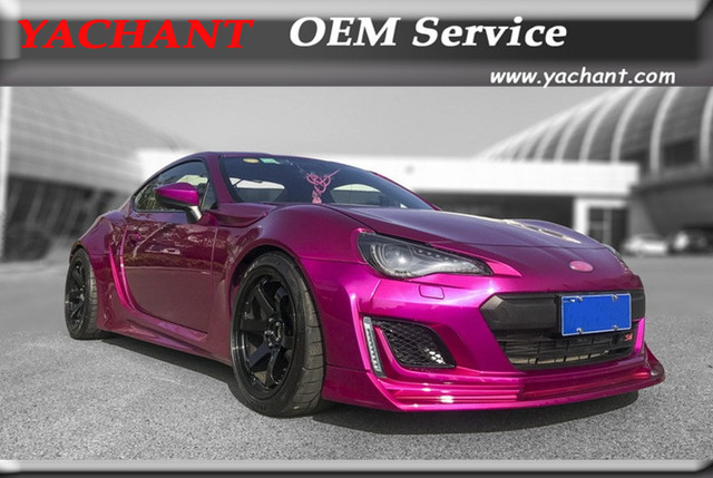 Car Styling Fiber Glass Frp Bodykits Fit For 2017 2018 Subaru Brz Aimgain Style