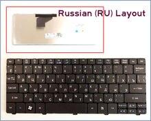 Nueva versión ru teclado ruso para acer aspire one d260 d270 aod270 521 ao521 522 ao522 laptop negro