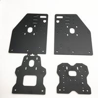 Funssor OX CNC Aluminium Plates Kit OX CNC Gantry Plate Set Openbuilds OX CNC ROUTER KIT v slot