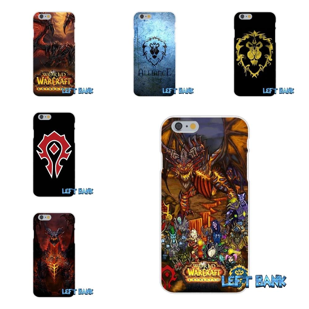 World Of Warcraft WOW логотип Тонкий силиконовый чехол для Huawei G7 P8 P9 P10 Lite 2017 честь 5X 5C 6X mate 7 8 9 Y3 Y5 Y6 II