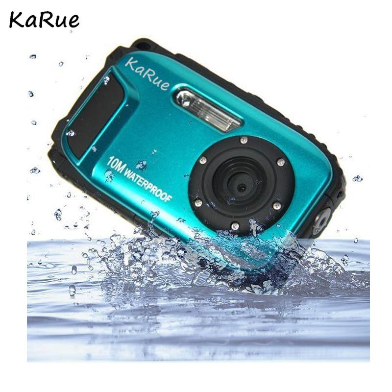 KaRue K188 Quasi professional IP68 10 meters waterproof diving digital camera 16 million pixel 2 7