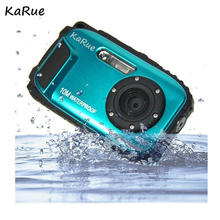 KaRue K188 Quasi professional IP68 10 meters waterproof diving  digital camera 16 million pixel 2.7 inch screen 8 X digital zoom
