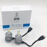 2X FREE SHIPPING CHEAPEST C1 F6 H7 72W 7600LM AUTO BULB KIT LIGHTS LED LAMP WHITE