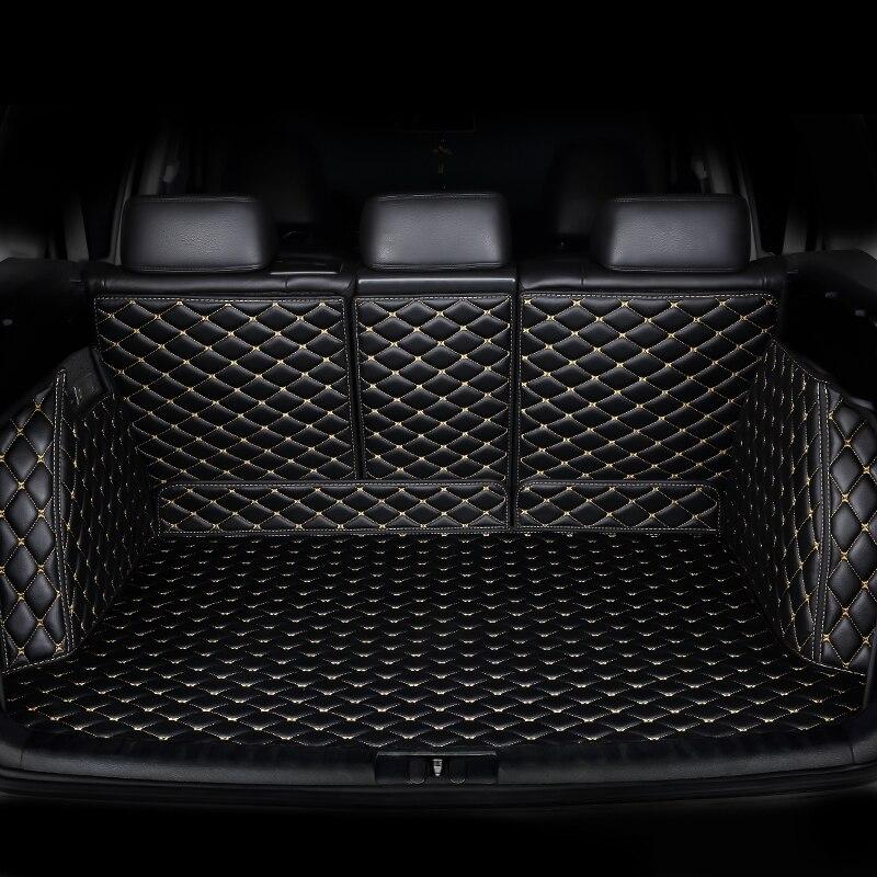 Пользовательские автомобильные коврики для багажника Volkswagen все модели VW jetta BORA Sagitar Touareg Tiguan вариант magotan polo Passat Touran teramont