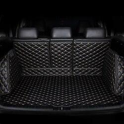 Custom kofferbak matten voor Volkswagen alle model VW jetta BORA Sagitar Touareg Tiguan Variant magotan polo Passat Touran teramont