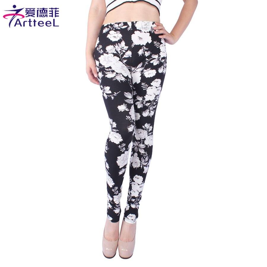 2017 font b Women b font font b Leggings b font Floral Printed Fitness font b