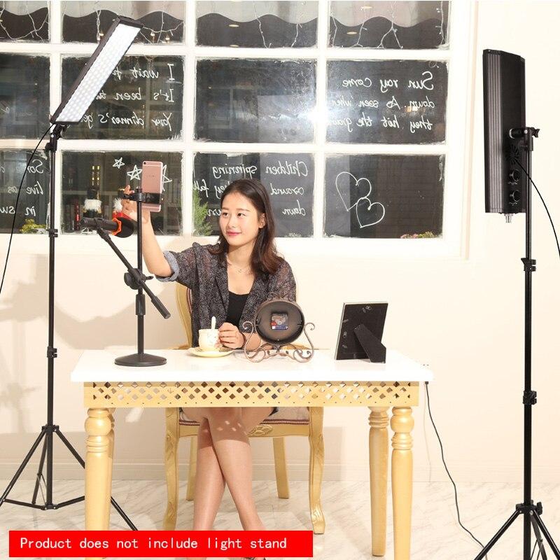 GSKAIWEN 60W 240pcs Bi-color LED Video Light Photography Studio Lighting Soft Lamp Dimmable Photo light  For Camera Shooting