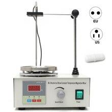 Лабораторная магнитная мешалка нагревательная пластина 110 В 220 В с цифровым дисплеем 2200 об./мин, регулируемая машина для перемешивания, блендер, лабораторная мешалка