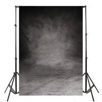 Mayitr Grote 10x5FT Retro Black Grey Fotografie Achtergrond Doek Achtergrond Geschikt Voor Fotostudio Props