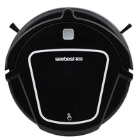 New Wet And Dry Robot Vacuum Cleaner For Home With Water Tank 500ml Dustbin 1000Pa Suction