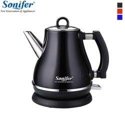 1.2L красочные 304 Электрический чайник из нержавеющей стали 1500 Вт бытовой 220 В быстрый нагрев Электрический кипения горшок Sonifer