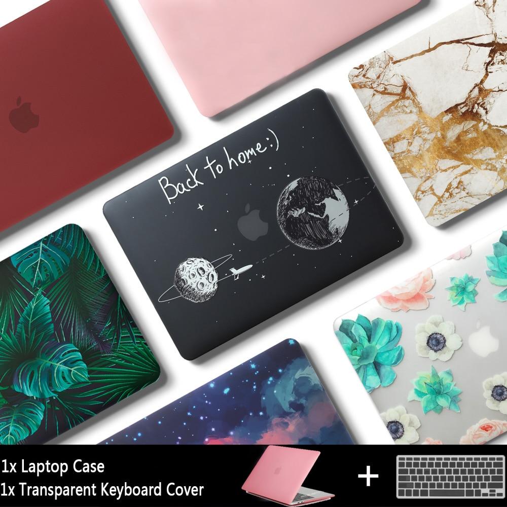 Nueva computadora portátil para Apple MacBook Air Pro Retina 11 12 13 15 para mac libro 13,3 pulgadas con Touch bar manga Shell + teclado