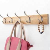 Creative Bedroom Wall Bamboo Hanging Hook Hanger European Style Hanging Clothes Racks Hook Sitting Room Accessories