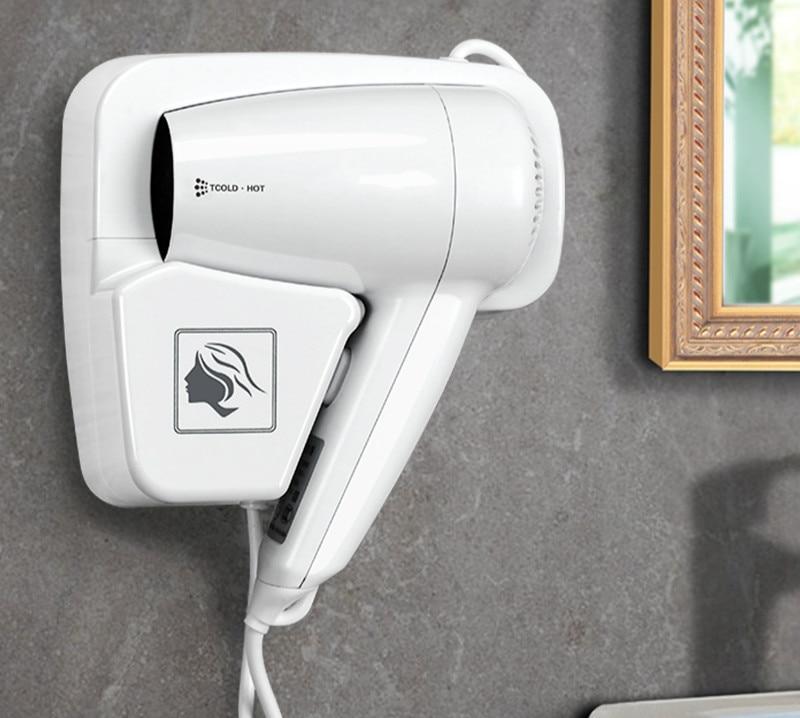 где купить Hair Dryers Hotel room bathroom wall hanging electric hair dryer дешево