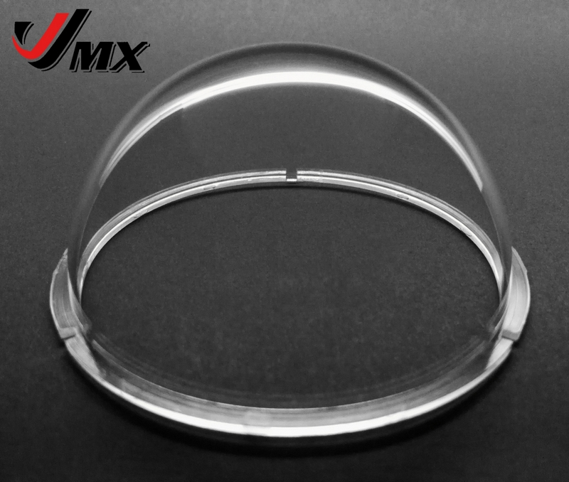 Outdoor CCTV Replacement Clear Camera Dome Cover JMX 2.9 Inch Acrylic Indoor