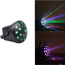 Mini Effect Light Led Stage Lighting with 3pcs Patter Leds Normal for Home Decoration Party Club Garden DJ Disco