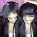 Дешевые Шелковый Топ Полная Парики, Кружева Бразильский Шелк База Полный Шнурок Человека волос Парики Для Чернокожих Женщин Девственные Волосы Шелк Лучших Парик Фронта Шнурка