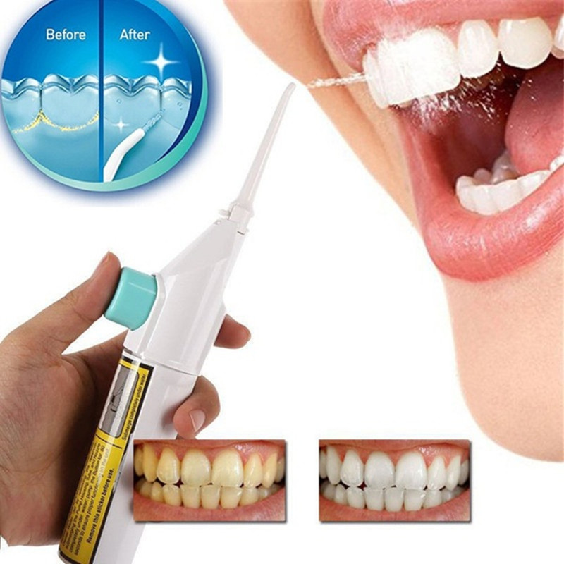 1pc Dental Water Flosser Water Pick Jet Oral Irrigator Mouth Denture Cleaner Dental Floss Irrigador Dental Power Floss Oral Care professional rechargeable oral irrigator water flosser irrigation dental floss family whitening cleaning mouth denture cleaner