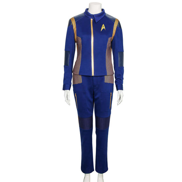 d8e43f82445e For Star Trek Discovery Commander Uniform Cosplay Costume New Starfleet USS  Discovery Sylvia Tilly Duty Outfit Cosplay On Sale!-in Movie & TV costumes  from ...