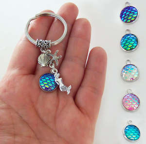 HZSHINLING seahorse sea horse keyring keychain for woman