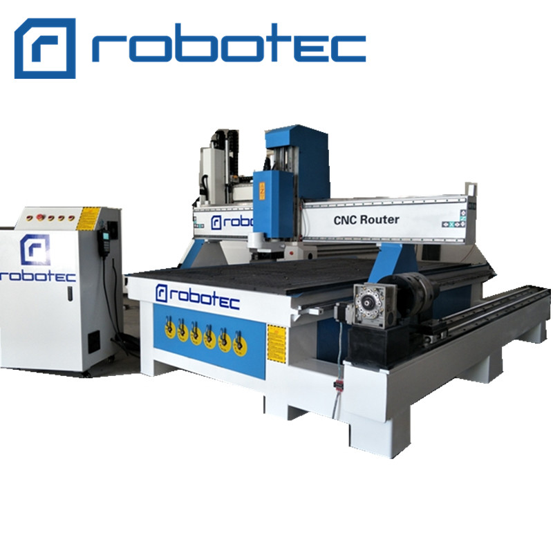 CNC Milling Machine for Cabinet 1325 CNC Woodworking Machine with 4 Axis CNC Wood Working Machine CNC Router Machine for Sale 3D in Wood Routers from Tools