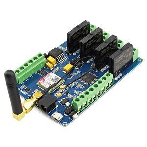 Image 4 - Elecrow Leonardo Gprs Gsm Iot Board Met SIM800C Relais Schakelt Draadloze Projecten Diy Kit Geïntegreerde Board Met 8 Bit avr Mcu