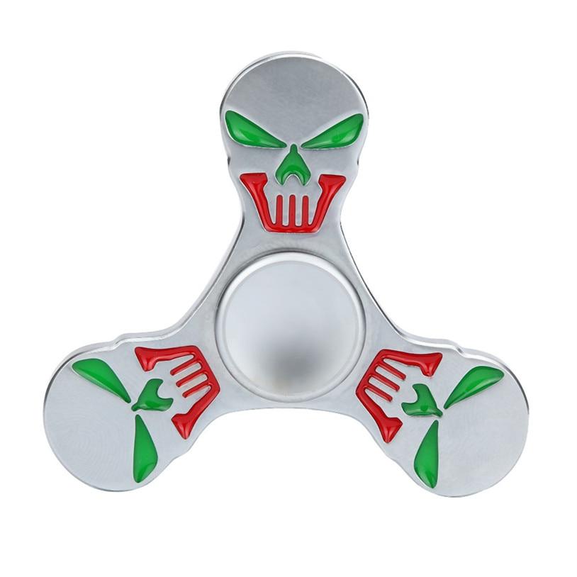 Tri Fidget Hand Spinner Metal Triangle Torqbar Zinc Alloy Puzzle Finger Toy EDC Focus Fidget Spinner