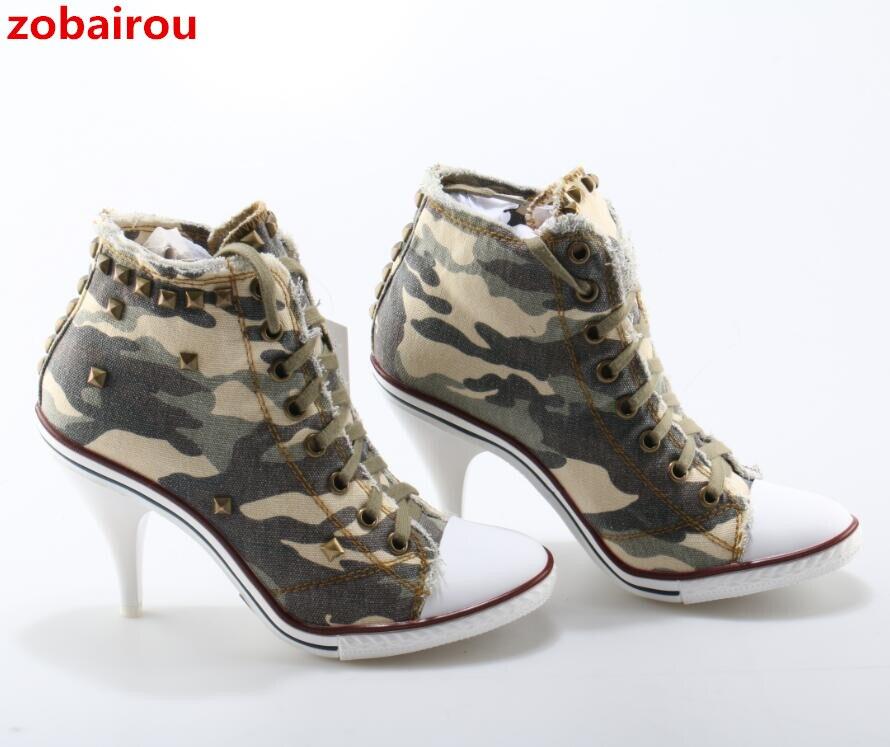 Show As Clouté Cowboy Militaire Chaussures Haute Gladiateur Bleu Bottes Cheville Jeans Talons as Femme Chaude Lacent Zobairou Chaussure Show Denim q7zHnaw
