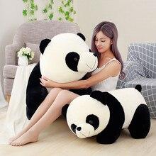 เด็กน่ารัก Big GIANT Panda ตุ๊กตาหมีตุ๊กตาหมีตุ๊กตาตุ๊กตาสัตว์ตุ๊กตาสัตว์ของเล่นหมอนการ์ตูน Kawaii ตุ๊กตาสาว Lover ของขวัญ