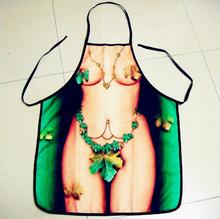 Freeshipping New 2019 Apron For Sexy Women Novelty Apron Party men Kitchen Cooking BBQ Party Bar Funny Aprons Dinner Baking