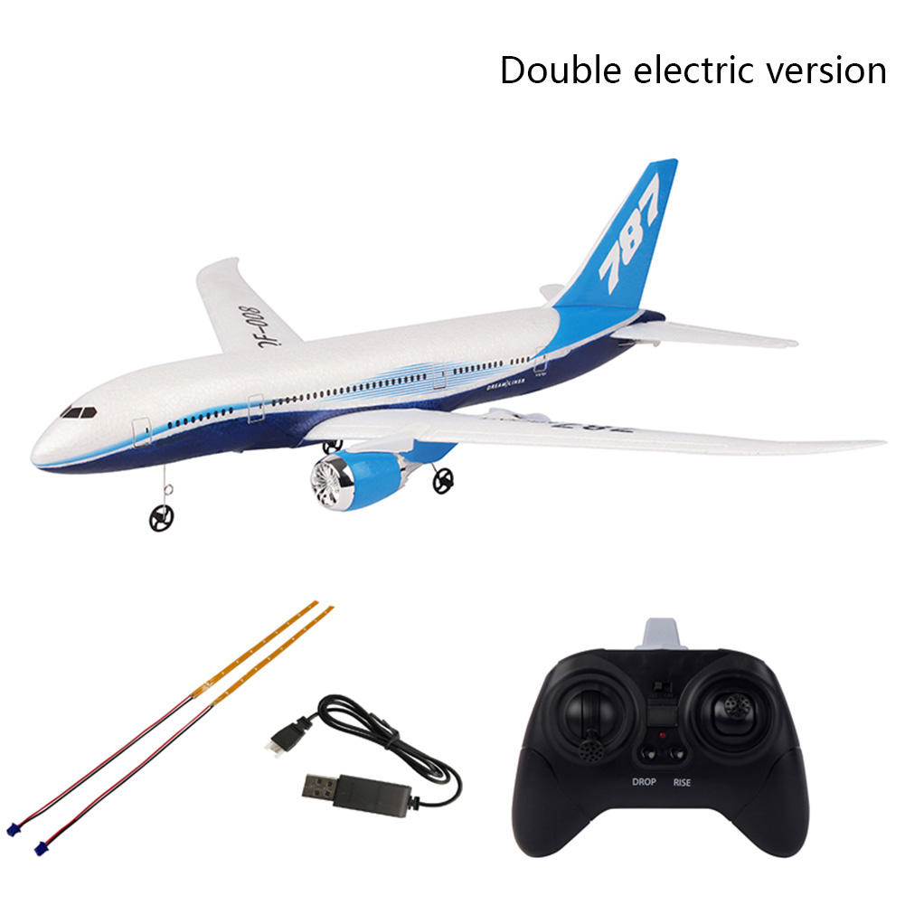 QF008-Boeing 787 RTF Scale Fixed Wing Easy Control 3CH Wingspan Aeromodelling DIY Toys Gift RC Airplane 2.4GHz Mini BeginnerQF008-Boeing 787 RTF Scale Fixed Wing Easy Control 3CH Wingspan Aeromodelling DIY Toys Gift RC Airplane 2.4GHz Mini Beginner