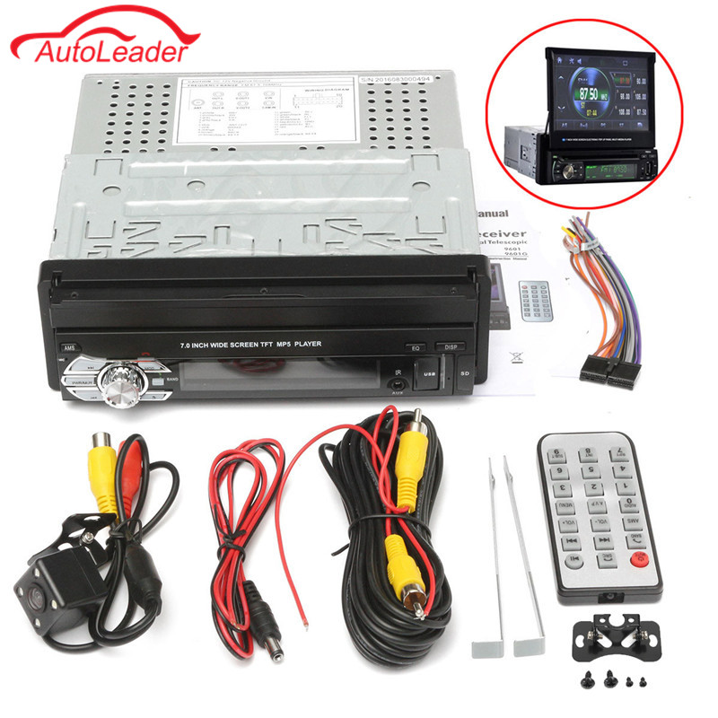 Universal Car Radio Dvd Bluetooth MP3/MP5 Audio Estéreo FM Incorporada en Teléfo