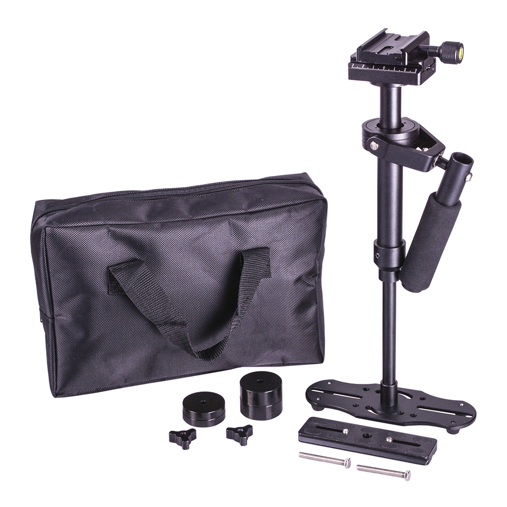 DSLR S40S steadicam 5D2 handheld Camera stabilizer S40 mini camcorder Smartphone video steadycam