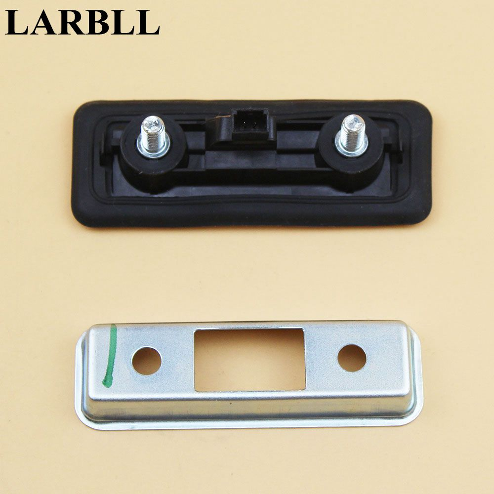 LARBLL New Car Auto Rear Trunk Lock Release Handle Switch 1ZD827574 Fit For Skoda Octavia 2007-2015