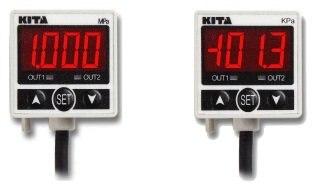 KITA Digital Pressure Switch KP25V-04-F1 -0.1~0MPa DC24V PNP 0 1 0mpa pressure gauge yb150a zt