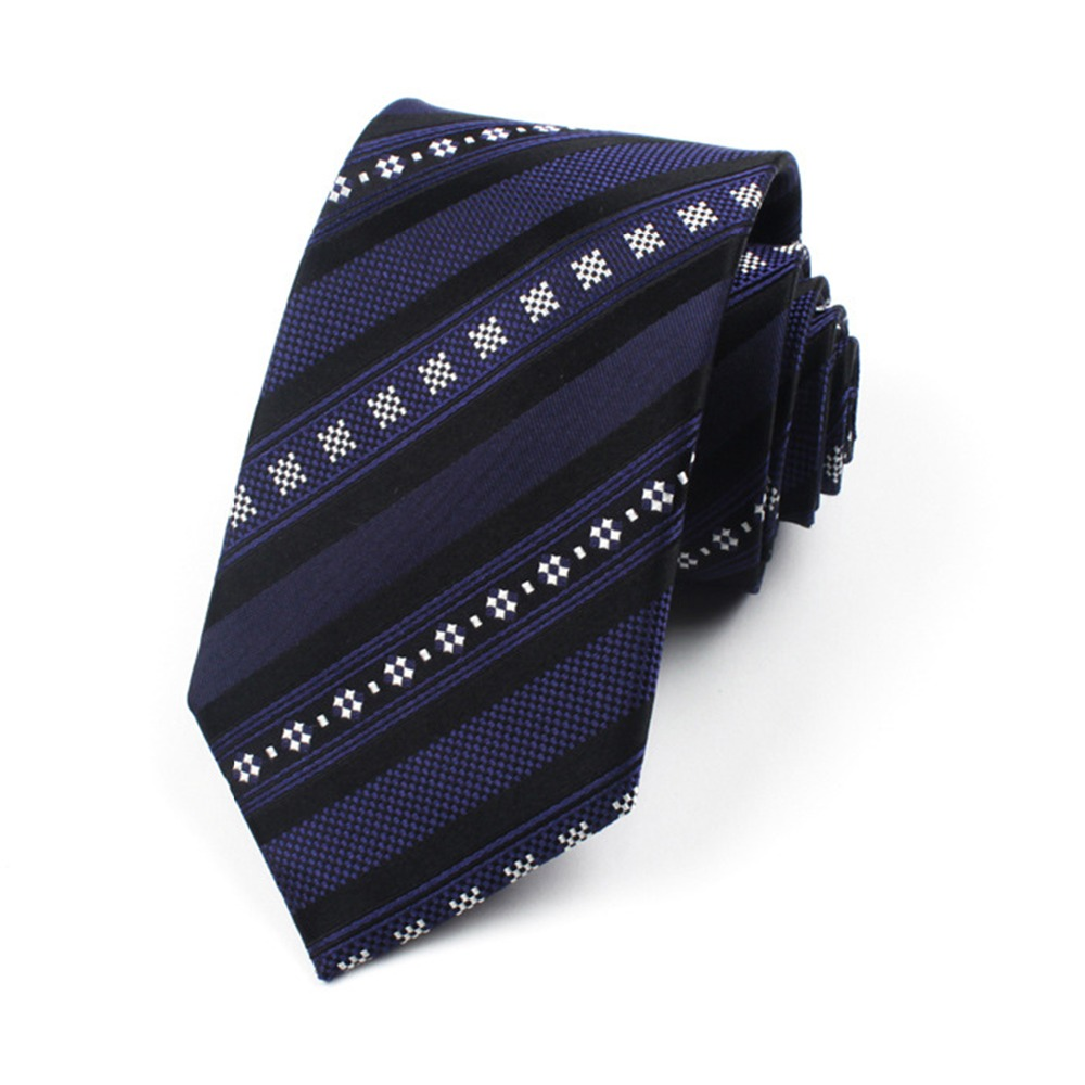 Shirt Neck Tie Jacquard Gravatas Vintage Print Silk Tie Fashion Mens Ties Cravat Necktie Onesize Ties For Men DaA18-85