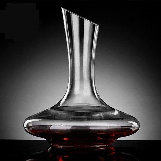 Fait à la main 1500 ML cristal verre vin décanteur aérateur décoratif à boire fiole Barware outil vaisselle ornement accessoires artisanat