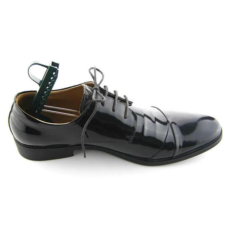 1 пара унисекс пластиковые башмаки дерево формирователь обуви аксессуары формы носилки регулируемая поддержка обуви дерево для ухода за ногами