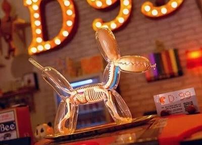 4D Master Perspective dog skeleton model free shopping robin hood 4d xxray master mighty jaxx jason freeny anatomy cartoon ornament